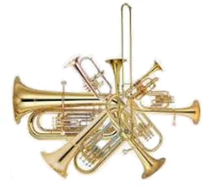 Picture of BR2900 - Brass - Trios